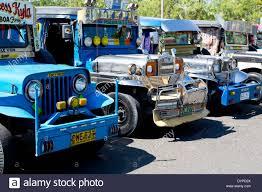 philippines jeepney vector jeepneys in angeles city luzon philippines stock photo royalty
