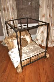 Dog Bed With Canopy 474 Best Animal Real Estate Images On Pinterest Animals Pet