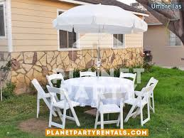 Tablecloth For Umbrella Patio Table Patio Umbrellas White Umbrella Rentals