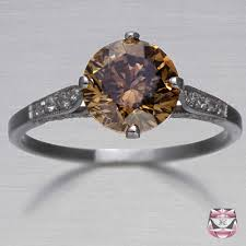 brown diamond engagement ring fancy brown diamond engagement ring i didn t even there were