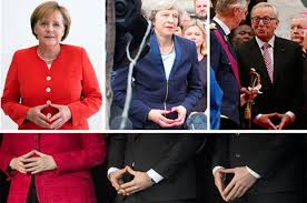 illuminati gestures secret eu illuminati signs made by may merkel and now juncker