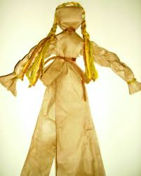 fake corn husk doll kids u0026 glitter