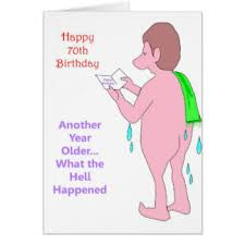 70th Birthday Cards Funny 70th Birthday Cards Greeting Photo Cards Zazzle
