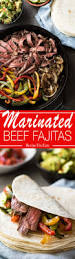 beef fajitas recipetin eats