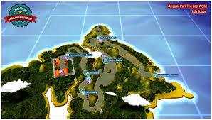 the lost world jurassic park introduction and map jurassic park the lost world secrets in