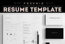Adobe Illustrator Resume Template Free Resume Template Graphicsfuel