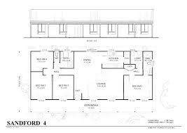 4 bedroom floor plans one story simple 4 bedroom house plans biggreen club