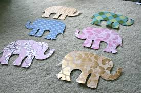 Elephant Decorations Pinspiration Monday Elephant Wall Art Dream Green Diy