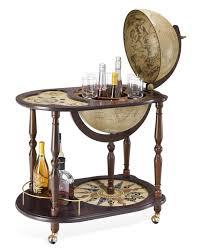 appendi bicchieri bar mappamondo carrello bar con io vassoio porta bicchieri venere