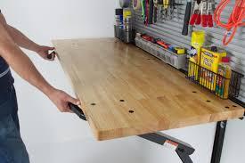 foldable garage workbench top gifts for guys garage workbench