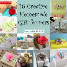 16 unique gift toppers favecrafts