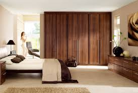 bedroom contemporary fitted wardrobe design with sliding doors