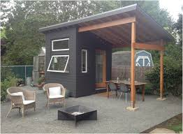 solar powered tiny house makes a cool backyard office curbed image