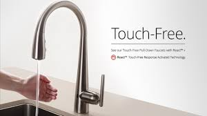 touch kitchen faucet enthralling best touchless kitchen faucet free tags touch