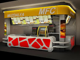 Fast Food Store Design - Fast food interior design ideas