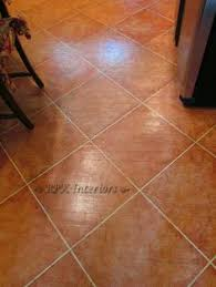 Faux Painted Floors - painted cement floor how to paint a faux terra cotta floor how