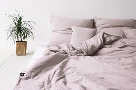 Blush Pink Comforter Bedroom Twirre Dusty Pink Duvet Coverdusky Double Cover Linen