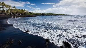 black sand beach hawaii top 15 black sand beaches in the world listovative