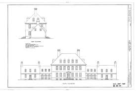 federal style home plans carters grove plantation colonial williamsburg colonial