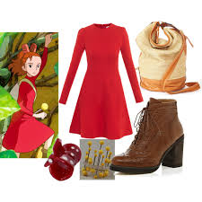 arrietty hair clip arrietty the secret world of arrietty polyvore