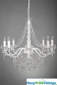 Bhs Crystal Chandeliers Chandelier White Chandeliers Satisfying White Chandeliers