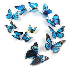 3d butterfly wall sticker decals for rooms ourbrave