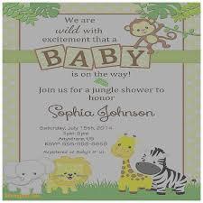 baby shower invitation new rainforest baby shower invitations