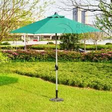 Sun Umbrella Patio 2 7 Meter Type 2 Brushed Aluminum Outdoor Sun Umbrella Patio