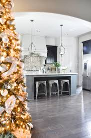 beautiful homes decorated for christmas holiday home showcase decor gold designs