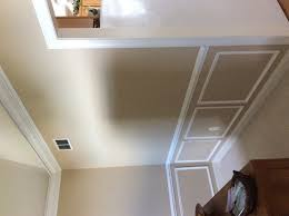 Crown Molding Vaulted Ceiling by Howard U0027s Diy Moldings In Dining Room With Vaulted Ceiling The