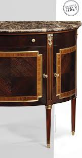 Invitinghome Com by Louis Xvi Style Inlaid Cabinet With Marble Top
