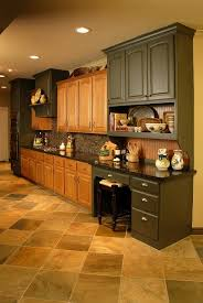 what flooring looks with honey oak cabinets updating oak kitchen cabinets before and after 11