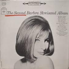 barbra streisand the second barbra streisand album vinyl lp