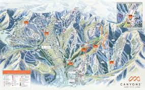 Vail Map Canyons Ski Resort Snow Com