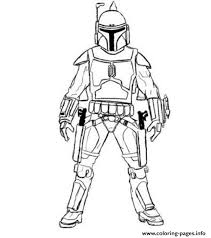 print easy boba fett star wars coloring pages mixed stuff 2