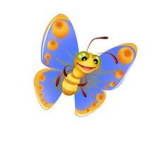 funny butterfly cartoon butterfly banner cartoon