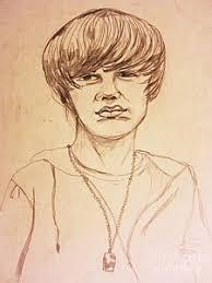 justin bieber drawing art fine art america