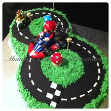 mario cart no 8 racing track party ideas pinterest birthdays