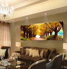 3pcs decorative pictures woods oil painting wall pictures for