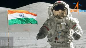 Moon Flag From Earth Indian Tricolour On Moon Youtube