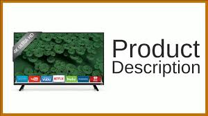 vizio d65u d2 ultra hd full u2011array led smart tv youtube