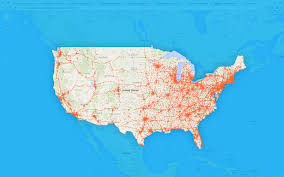 Metro Pcs Coverage Map by National 3g Maps Page 9 What Are The Coverage Maps For Us