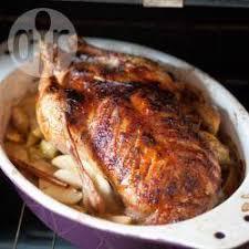 cuisiner canard entier recette canard rôti aux pommes et à l orange toutes les recettes