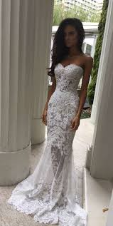 tight wedding dresses charming white lace wedding dress sweetheart bridal dress