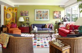 Green Living Rooms by Red And Green Living Room The Combination Of Green And Red Gives
