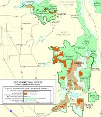 Flat Map Of The United States by Giant Sequoia Advocacy And Defense U2014 Wildplaces