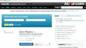 Linkedin Profile In Resume Resume Linked In Lukex Co