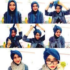 tutorial turban sederhana pin by zalfa on tutorial hijab turban pinterest tutorials