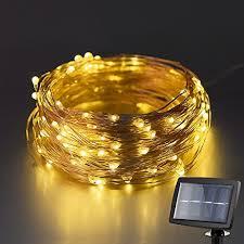 solar powered led fairy lights 120 led 6 meters kohree solar powered led string lights copper