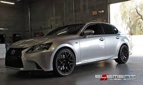 lexus is rims 20 inch staggered ground force gf09 on 2013 lexus gs350f w specs